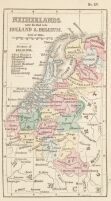 Old Overijssel Netherlands Map